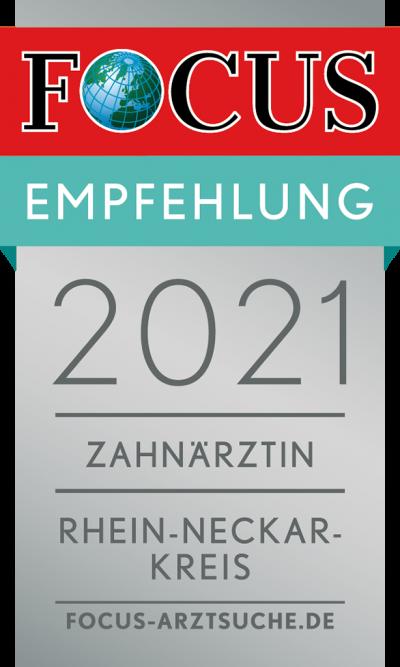 prodent_focus_Regiosiegel_2021_Zahnärztin_Rhein-Neckar-Kreis